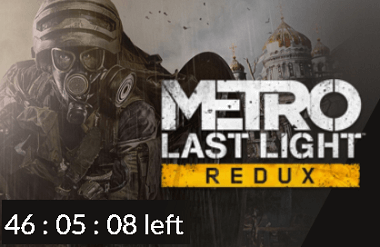 Metro Last Light Redux Box Shot