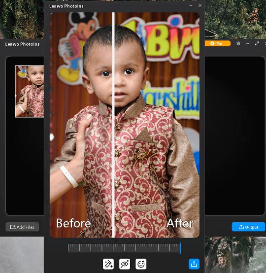 Leawo PhotoIns Windows Interface