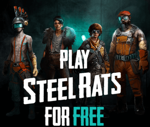 Steel Rats is available for FREE