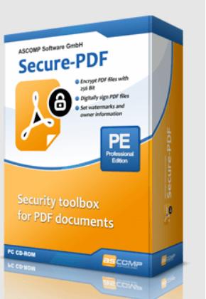 ASCOMP Secure-PDF Box Shot
