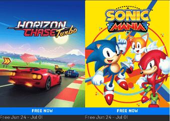 Horizon Chase Turbo and Sonic Mania