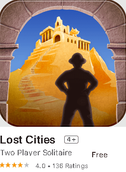 Lost Cities- Solitaire Game