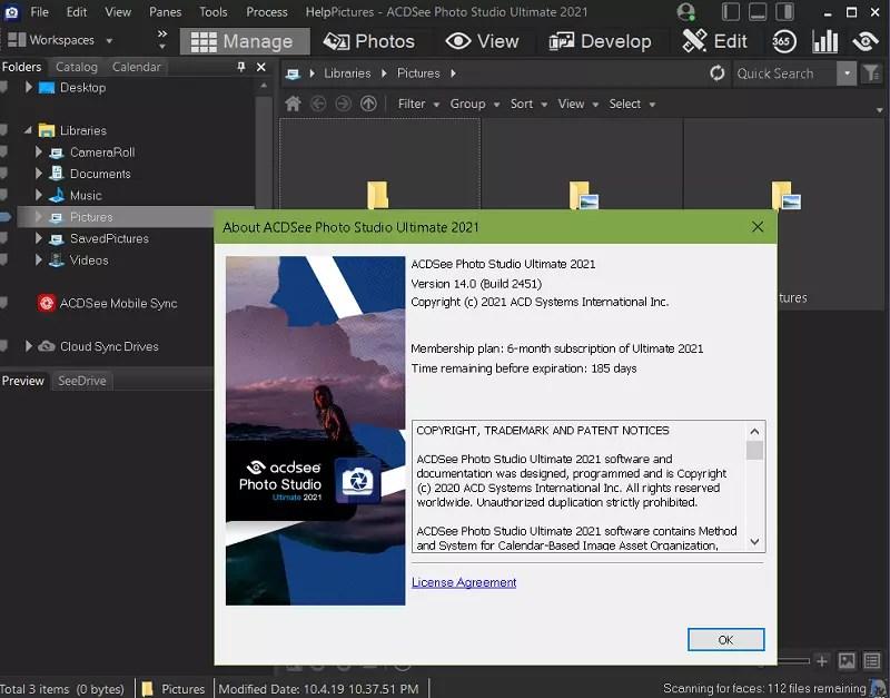 ACDSee Photo Studio Ultimate 2021 main Interface-UI