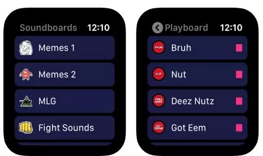 Soundbox - Create Custom Soundboards on Apple Watch