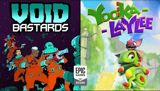 Void Bastards and Yooka-Laylee free at Epic games