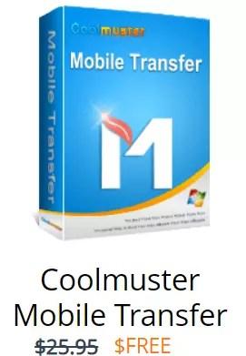 Coolmuster Mobile Transfer Box Shot