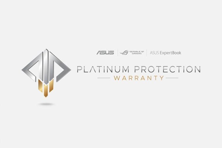 ASUS PH Platinum Protection Warranty