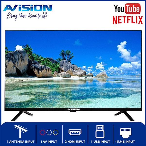 32-inch Avision Frameless Smart Digital HD Led TV
