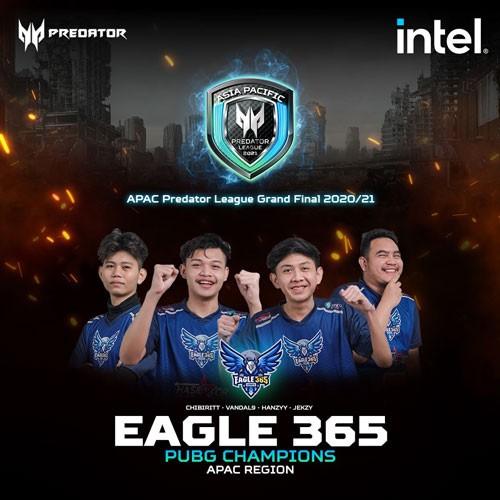 Asia-Pacific Predator League Finals - Team Eagle 365