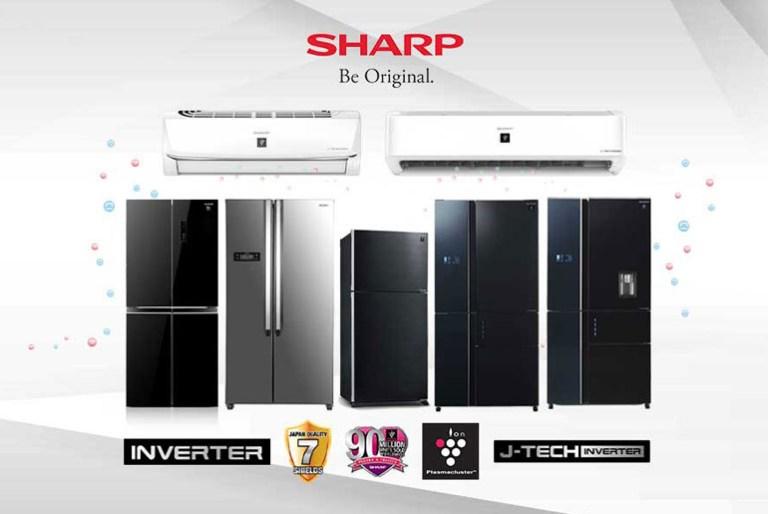 Sharp Inverter Refrigerators and Air Conditioners