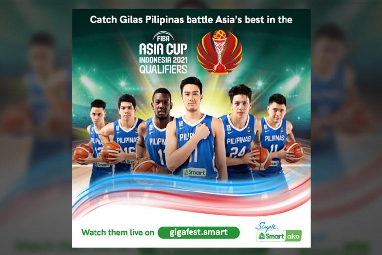 Gilas Pilipinas FIBA Asia Cup Smart Gigafest