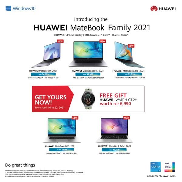 Huawei MateBook 2021 Price Philippines