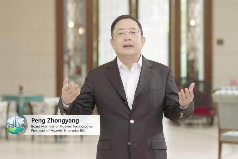 Peng Zhongyang, Board Member, President of Enterprise BG, Huawei