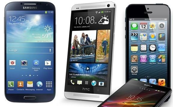 Samsung-Galaxy-S4-Sony-Xperia-Z-vs-iPhone-5s