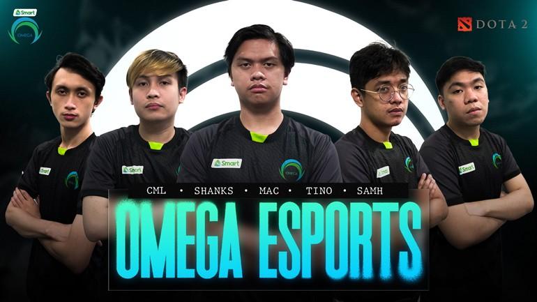 Smart supports Omega Esports DOTA 2 team
