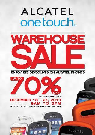 Alcatel Warehouse Sale