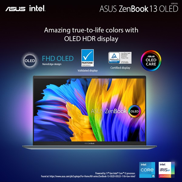 ASUS ZenBook 13 OLED UX325 Price in the Philippines