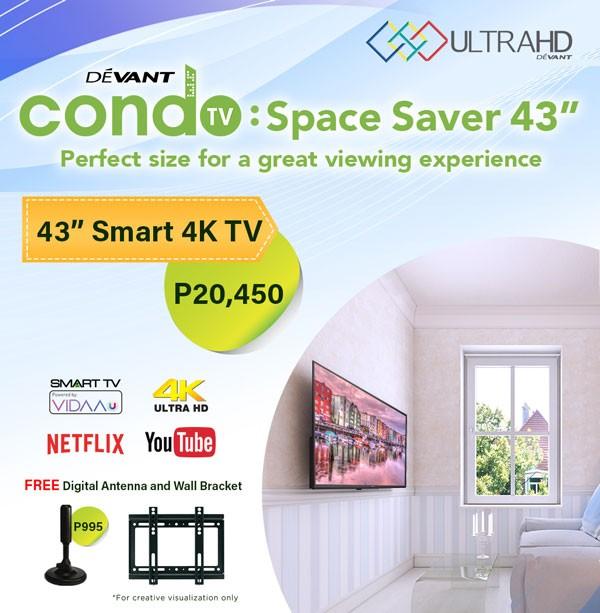 Devant 43-inch 4K TV