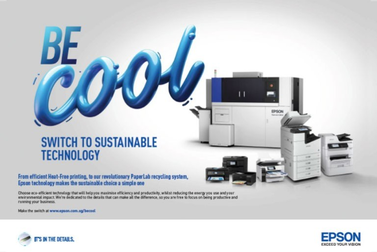 """Epson announces """"Be Cool"""" new printer sustainability campaign"""