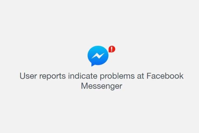 Facebook Messenger is Down