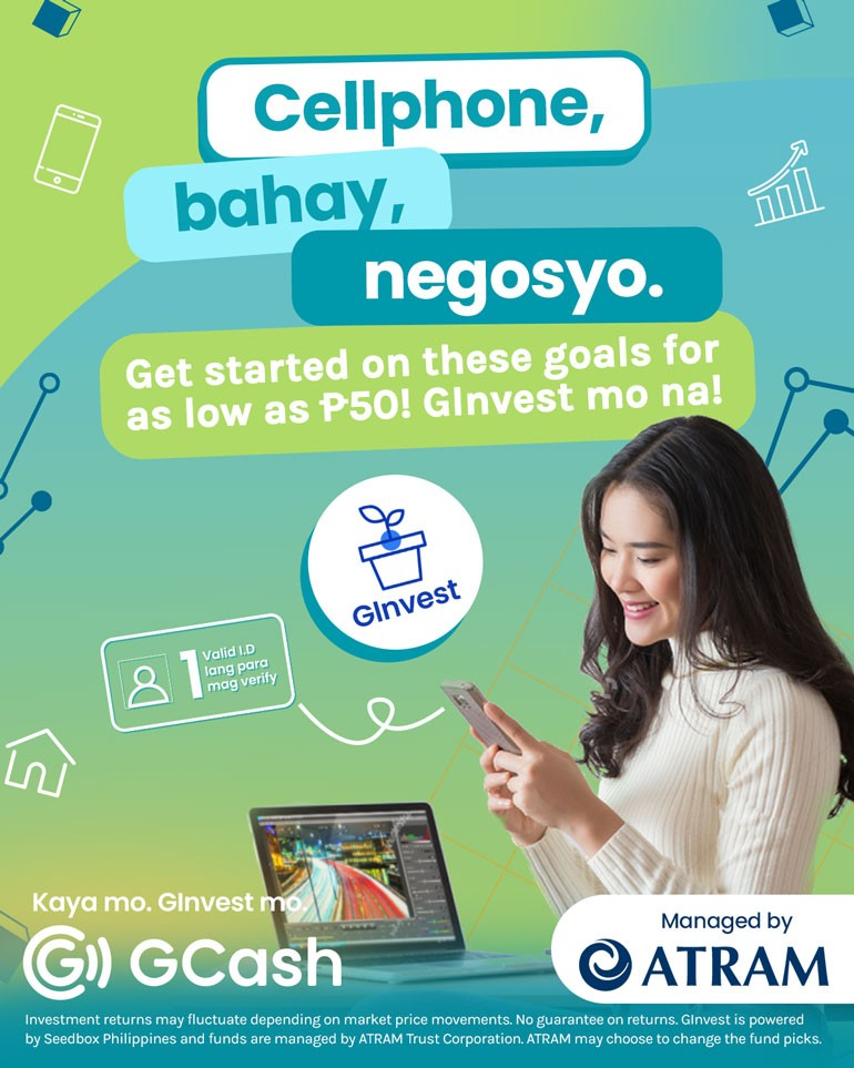 Earn money using GCash with GInvest