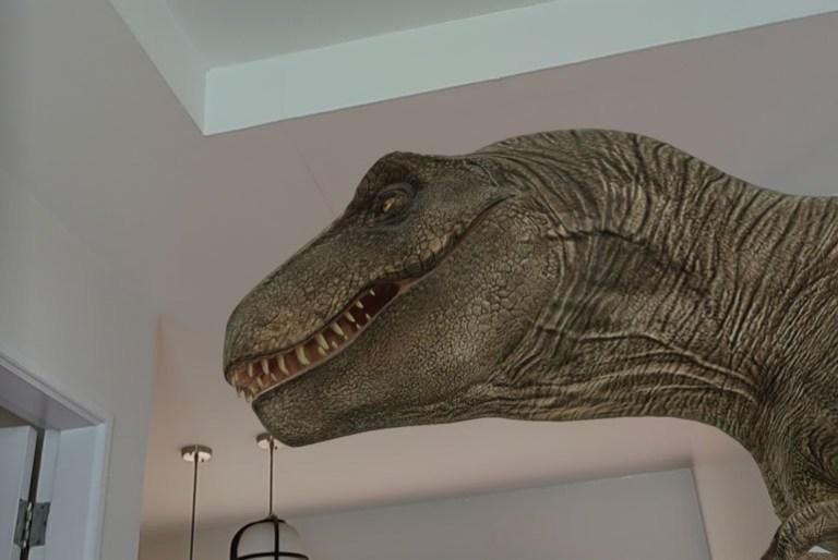 Google Search 3D AR animals