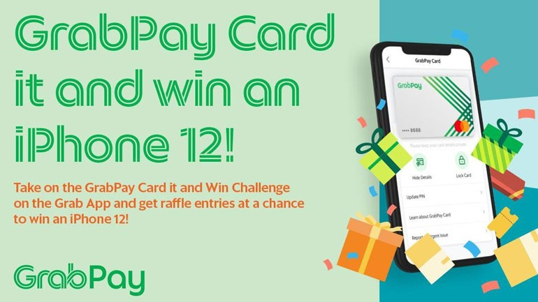Use your GrabPay Card and win an iPhone 12