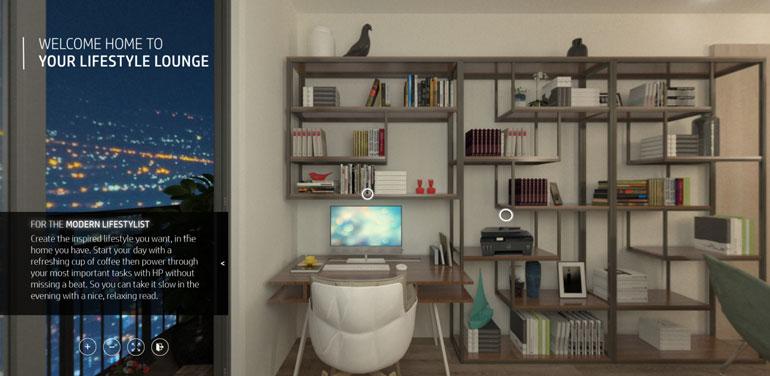 HP Virtual Showroom Lifestyl