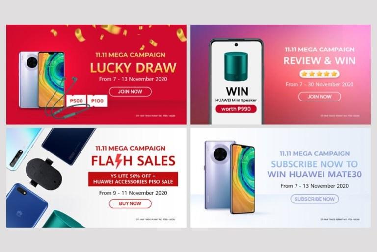 Huawei 11.11 MEGA Campaign Sale