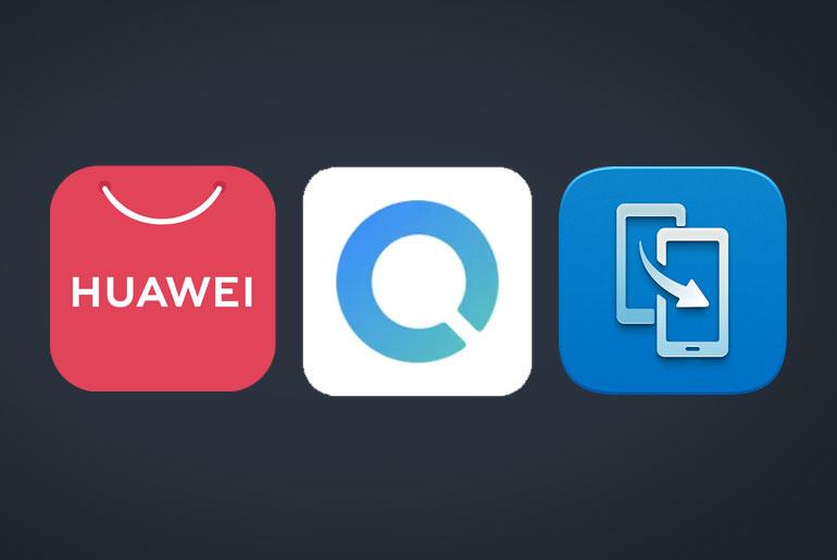 Huawei nova 7 SE 5G AppGallery Petal Search WIdget