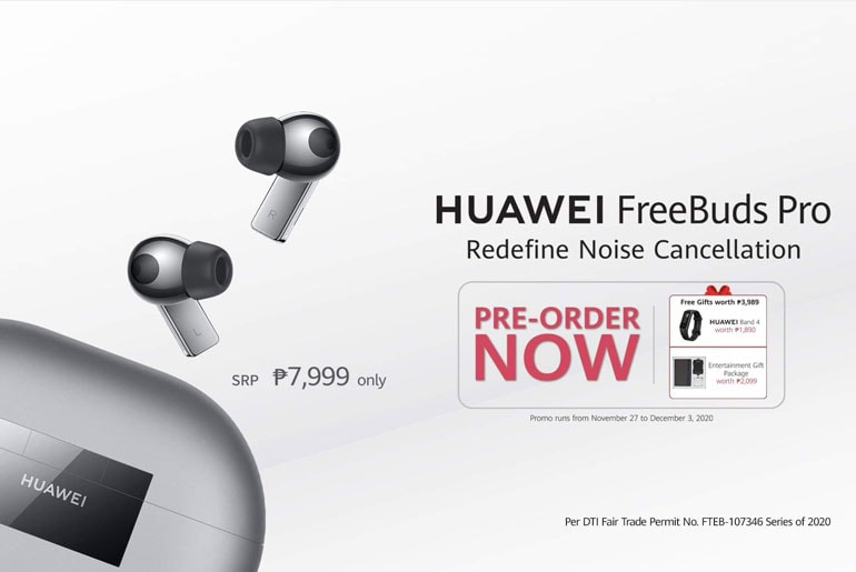 Huawei FreeBuds Pro Pre-order Philippines