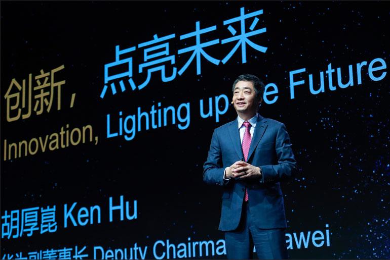 Huawei Deputy Chairman Ken Hu