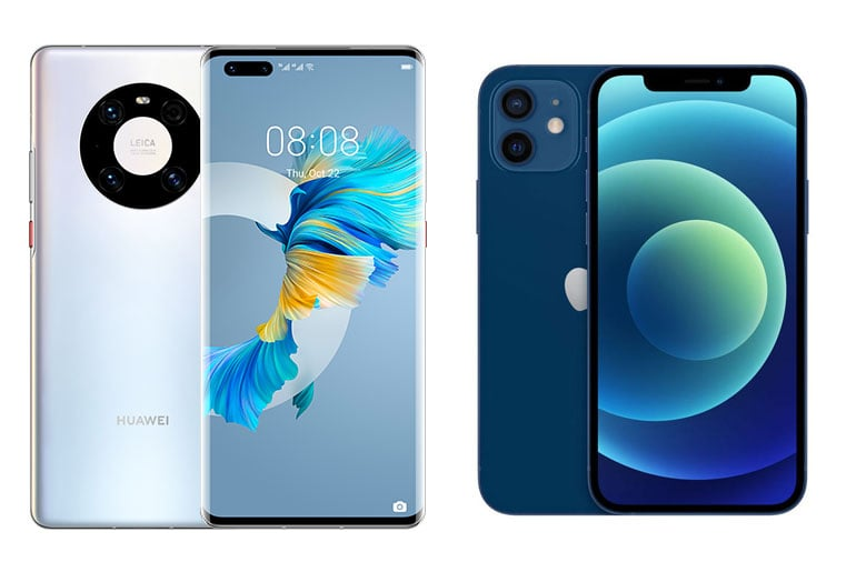 Huawei Mate 40 Pro with free iPhone 12