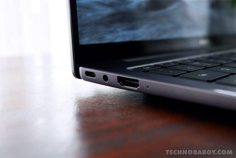 Huawei MateBook 14 2020 I/O Ports Left Side