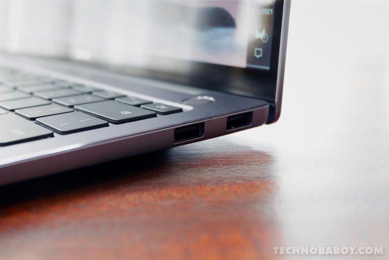 Huawei MateBook 14 2020 I/O Ports Right Side