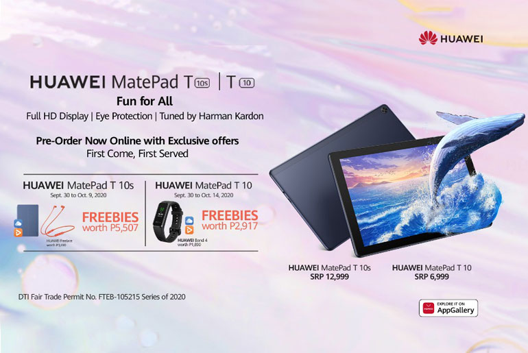 Huawei MatePad t10s price philippines
