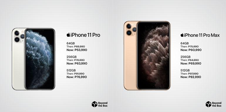 iPhone 11 Pro, iPhone 11 Pro Max price drop Philippines