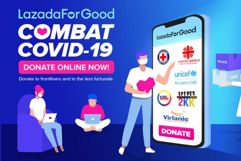 LazadaForGood Donations