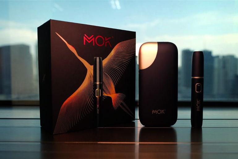MOK heat-not-burn smokeless tobacco