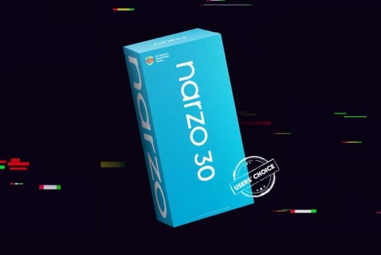 Narzo 30 packaging