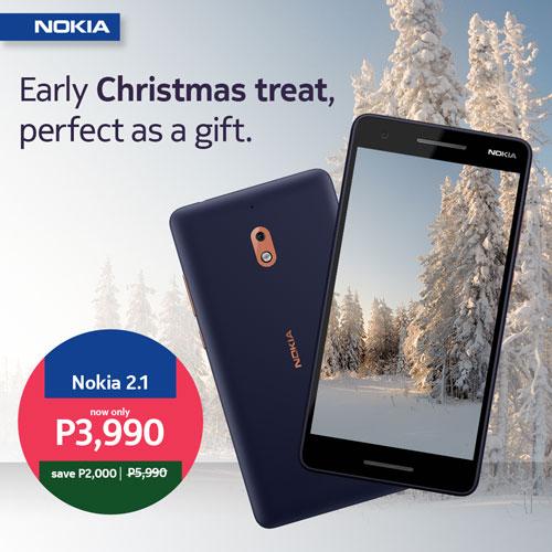 Nokia Christmas Three Promo - Nokia 2.1