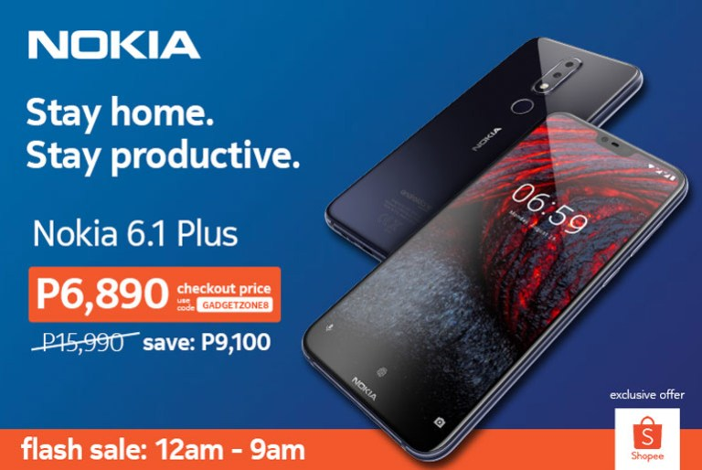 Nokia 6.1 Plus Shopee Flash Sale