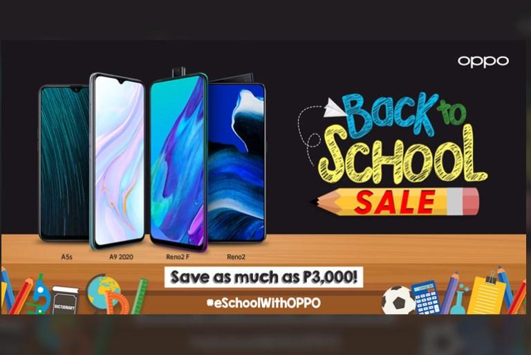 OPPO Back to School Sale