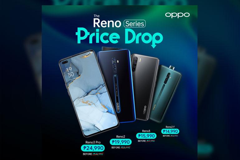 oppo reno price drop