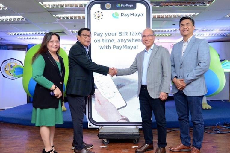 PayMaya BIR Tax Payment
