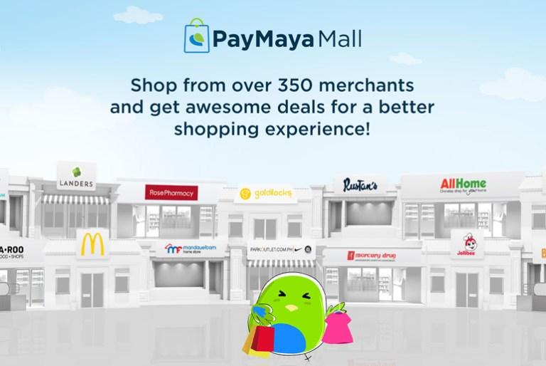 PayMaya Mall additional stores