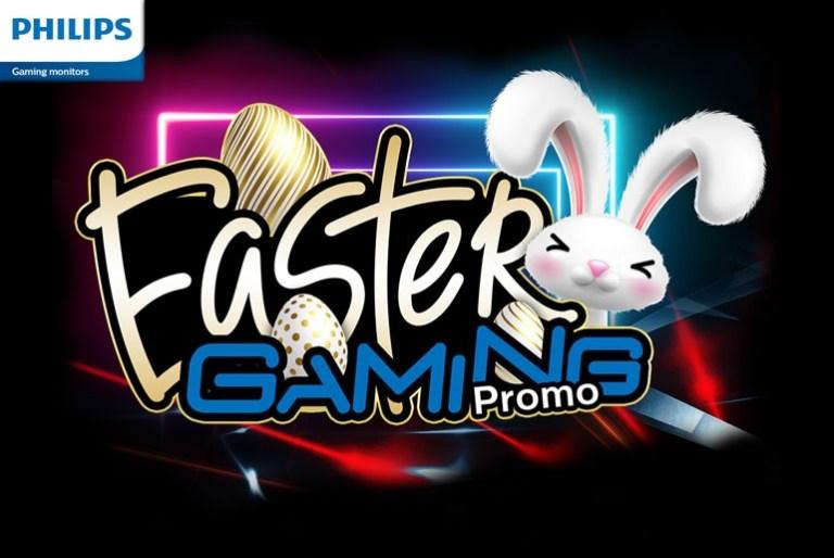 Philips Gaming Monitor Easter Gaming Promo