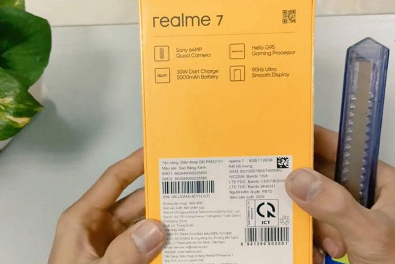 realme X7 specs unboxing leak