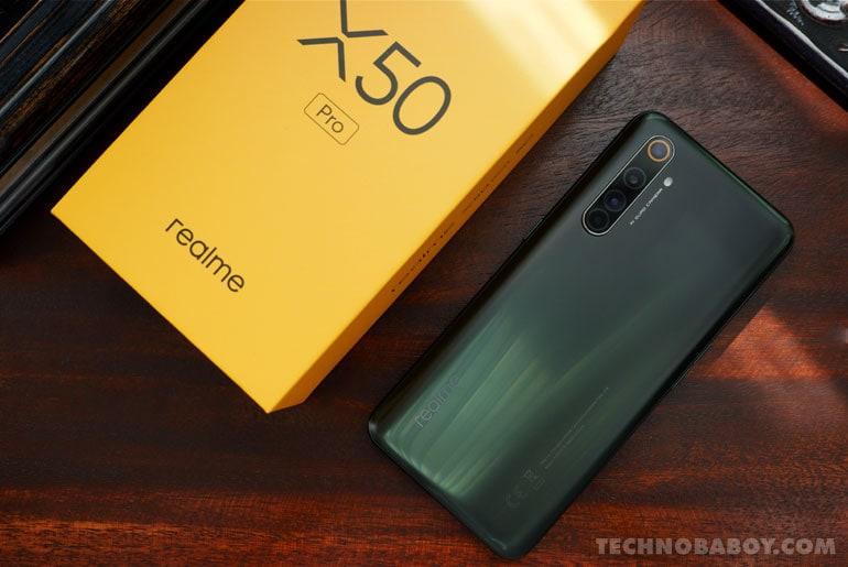 realme X50 Pro Smart Signature Plans