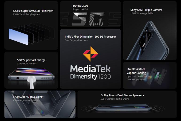 realme X7 Max 5G specs